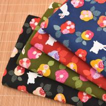Fabric / fabric / handmade DIY fabric cotton Loose shear piece Cartoon animation printing and dyeing clothing Japan and South Korea DIY 100%