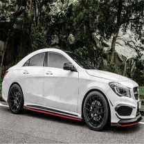 Surrounded by cars Xuangai Automobile modified parts carbon fibre Small encirclement Side skirt Anterior lip + posterior lip