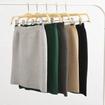 skirt Autumn 2016 One size (80-110jin) short skirt 45cm, one size (80-110jin) medium skirt 55cm, one size (80-110jin) medium skirt 50cm, one size - split long skirt 70cm - no tag, one size (100-140) medium skirt 55cm, one size (80-110jin) medium skirt 60cm Short skirt Versatile High waist Solid color