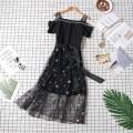 Dress Summer of 2018 black M L XL 2XL