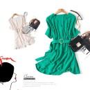 Dress Summer of 2018 Pink green blue off white 12