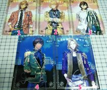 Cartoon card / Pendant / stationery Over 14 years old Card / letter UTA NO PRINCE SAMA 1 2 3 4 5 About 29cm x 21cm goods in stock Japan