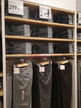 Casual pants UNIQLO / UNIQLO other 03 grey 414668, 08 dark grey 414668, 03 grey check 426288, 57 olive 422373, 68 dark blue 422373, 32 Dark Beige 413165, 04 Grey Stripe, 62 blue stripe, 00 pure white 73(165/72A),76(165/76A),79(170/78A),82(170/82A),85(175/84A),88(175/88A),91(180/90B) trousers
