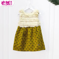 Dress yellow female Other / other Cotton 70% viscose (viscose) 30% 3 months