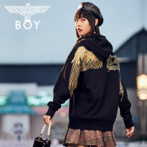 Sweater / sweater Autumn 2020 Black - for Plaid Skirt Pink - for plaid skirt XS S M L XL Socket easy 96% and above BOY LONDON other B203NB607202-w Other 100% Same model in shopping mall (sold online and offline)