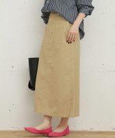 skirt Spring 2021 36,38 Khaki, army green Mid length dress Versatile High waist Type A More than 95% brocade cotton