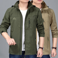 Jacket Other / other Youth fashion Navy, army green, khaki M [recommended 100-125 kg], l [recommended 125-140 kg], XL [recommended 140-155 kg], 2XL [recommended 155-170 kg], 3XL [recommended 170-185 kg] routine easy Travel? Four seasons Lbp90-77886 Hooded Jacket Long sleeves Wear out Hood youth 2019