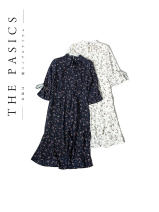 Dress Summer 2021 White, Navy commute 25-29 years old Other / other Korean version