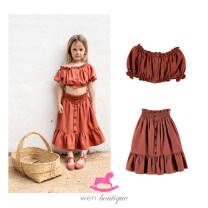 skirt 2y,4y,6y,8y,10y,12y,14y,16y,18y Skirt, jacket BELLE CHIARA female Cotton 100%