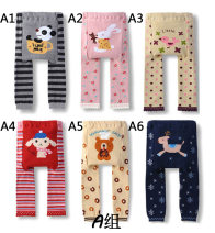 trousers Other / other neutral 80cm,90cm,95cm A1 cup bear, A2 pink rabbit, A3 bird, A4 red sheep, A5 hat bear, A6 deer spring and autumn Ninth pants leisure time Official pictures Big PP pants Leather belt middle-waisted blending Don't open the crotch PP-A PP pants