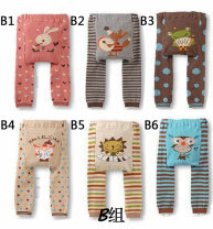 trousers Other / other neutral 80cm,90cm,95cm No season trousers Cartoon Official pictures Big PP pants Leather belt middle-waisted blending Don't open the crotch Polyester fiber 80% polyurethane elastic fiber (spandex) 20% PP-B 12 months, 6 months, 9 months, 18 months, 2 years, 3 years Shaoxing