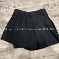 Casual pants black S,M,L Winter of 2018 High waist commute 18-24 years old Other / other fold
