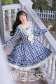 Lolita / soft girl / dress Strawberry witch S,M,L,XL,2XL,3XL Summer, spring, spring and autumn Pre sale Classic, Lolita