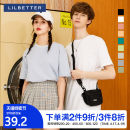 T-shirt Youth fashion Gray green white black blue pink grass green gray green orange routine 165/S 170/M 175/L 180/XL 185/XXL Lilbetter Short sleeve Crew neck standard Other leisure summer T-9201-018804 Cotton 100% youth routine tide Spring 2020 Solid color other washing Fashion brand