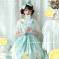 Lolita / soft girl / dress White bird Light blue (10 pieces or more), light green (10 pieces or more) M, S goods in stock