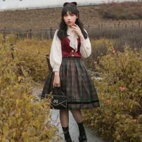 skirt Autumn 2020 S. M, l, XL, 2XL, customized Christmas color