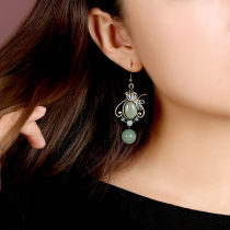 Earrings other 30-39.99 yuan Misty rain in Jiangnan Common ear hook U-shaped ear clip (common) 925 Tremella hook brand new female ethnic style goods in stock Fresh out of the oven other other Huadiefei Earrings