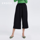 Casual pants black 155/60A/XS 155/64A/S 160/68A/M 165/72A/L 170/76A/XL 175/80A/XXL Spring 2021 Cropped Trousers Wide leg pants Natural waist commute routine 25-29 years old 96% and above Erdos / Ordos wool Simplicity wool Wool 96% polyurethane elastic fiber (spandex) 4%