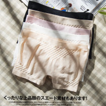 underpants female Pink White Black apricot complexion Average size Other / other 1 cotton boxer middle-waisted Simplicity Solid color youth