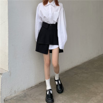 Fashion suit Spring 2021 Shirt 291, skirt 292 White, black Other / other 291 292