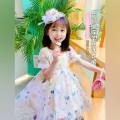 Dress female Neon workshop Other 100% summer Korean version Short sleeve other other Princess Dress B110 other 12 months, 18 months, 2 years old, 3 years old, 4 years old, 5 years old, 6 years old Chinese Mainland Zhejiang Province