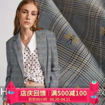 Fabric / fabric / handmade DIY fabric blending [Note: imported superior fiber], [please take: 1 piece = 0.1 m long * 1.5 m wide] Loose shear piece Others Yarn dyed weaving clothing Europe and America HAODUO