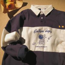 Sweater Youth fashion dwhx Dark blue, gray S thickening 155-165, m thickening 165-170, l thickening 170-175, XL thickening 175-180 Socket Plush Lapel