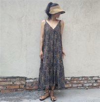 Dress Summer 2021 black Average size other longuette
