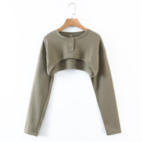 Sweater / sweater Spring 2021 Army green S,M,L Long sleeves have cash less than that is registered in the accounts Socket street 31% (inclusive) - 50% (inclusive) FMP 27-50968 Europe and America