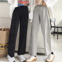 Casual pants 8868 / 2559 grey, 8868 / 2559 black S,M,L,XL,2XL Spring 2021 commute routine 18-24 years old 31% (inclusive) - 50% (inclusive) 8868/2559 other acrylic fibres Asymmetry
