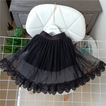 skirt black Other / other female Other 100% spring and autumn skirt princess Class B
