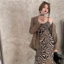Dress Autumn 2020 Sling, suit S. M, l, average size longuette singleton  Sleeveless commute other High waist other other other other camisole 18-24 years old Type A Other / other Korean version 31% (inclusive) - 50% (inclusive) other other