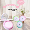 Mini fan Other / other USB Pink out of stock cyan green out of stock grass green out of stock Blue Pink + cyan green + grass green + blue Chinese Mainland Mini fan with mirror four thousand four hundred and ten public Tender girl's heart 150g 95*80*40mm