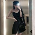 Fashion suit Spring 2021 M, L Black suspender skirt, black suit 51% (inclusive) - 70% (inclusive)