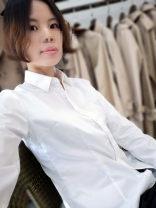 shirt White, natural white, No.1 short sleeve, No.2 short sleeve, No.3 short sleeve 155/80A,160/84A,165/88A,170/92A,175/96A,175/100A,180/104 (41) Autumn of 2019 cotton 51% (inclusive) - 70% (inclusive) Long sleeves Versatile Regular square neck Single row multi button routine stripe Self cultivation