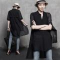 Lace / Chiffon Summer of 2019 Black, white M,L,XL,2XL Short sleeve commute Cardigan singleton  Medium length V-neck routine Korean version