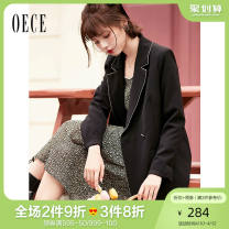 suit Spring 2021 Black and white S M Long sleeves routine Self cultivation tailored collar double-breasted commute routine Solid color 21ILR741 25-29 years old 96% and above other Oece Other 100% Same model in shopping mall (sold online and offline)