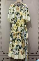 Dress High end version female S,M,L Flax 100% cotton other 14 years old
