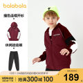 suit Bala 130cm 140cm 150cm 160cm 165cm 170cm 175cm male winter leisure time Long sleeve + pants 2 pieces thickening There are models in the real shooting Zipper shirt No detachable cap other Cotton blended fabric Class B Polyester 58.9% cotton 41.1% Winter 2020 Chinese Mainland