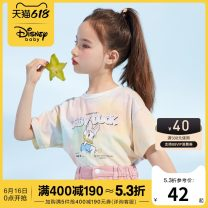 T-shirt other Cotton 95% polyurethane elastic fiber (spandex) 5% DB121BE08 other other female Bb.park/beibeipark 12 months 18 months 2 years 3 years 4 years 5 years 6 years 7 years 8 years 9 years 10 years 11 years old other Cartoon animation Short sleeve other