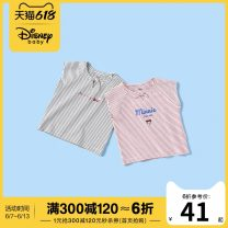 T-shirt summer leisure time No model in real shooting nothing Cotton 94.4% polyurethane elastic fiber (spandex) 5.6% DB071BR06 other Summer 2020 female Bb.park/beibeipark 12 months 18 months 2 years 3 years 4 years 5 years 6 years 7 years 8 years 9 years old cotton Cartoon animation Short sleeve