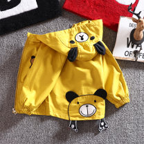Plain coat Other / other male spring and autumn Korean version Zipper shirt The cap is not detachable No model in real shooting Thin Cartoon animation cotton other Children's cartoon jacket 1234 years old Class B 12 months, 18 months, 2 years old, 3 years old, 4 years old Chinese Mainland