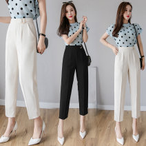 Suit pants / suit pants S,M,L,XL,2XL Off white, black Spring 2021 4 29 18-24 years old Other / other
