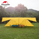 Awning / awning / awning / advertising awning / canopy Naturehike Over 3000mm aluminium alloy 210t Plaid - Orange 20d coated with silicon - white China Winter 2017 NH17T015-M 20d silica gel yes