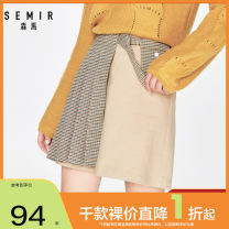 skirt Spring 2020 155/62A/S 160/66A/M 165/70A/L 170/74A/XL Shenkaqi 5716 Short skirt Retro Natural waist Pleated skirt lattice Type A 18-24 years old 19-120200303 71% (inclusive) - 80% (inclusive) other Semir / SEMA cotton Splicing Same model in shopping mall (sold online and offline)