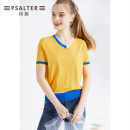 Wool knitwear Summer 2020 36 38 40 42 44 Short sleeve singleton  Viscose 71% (inclusive) - 80% (inclusive) Regular routine Straight cylinder V-neck routine Socket 30-34 years old Psalter / poem Same model in shopping mall (sold online and offline)