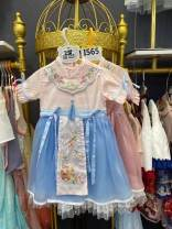Dress Pink, blue female Other / other 5-100, 7-110, 9-120, 11-130, 13-140 Other 100% spring and autumn Chinese style Long sleeves Solid color other A-line skirt Seven, eight, three, six, two, eleven, five, four, ten, nine Chinese Mainland