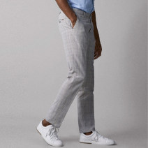 Casual pants Enviart Fashion City Gray, brown trousers go to work Self cultivation summer 2019