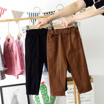 trousers Other / other male 80cm,90cm,100cm,110cm,120cm,130cm,140cm Black, brick red spring and autumn trousers leisure time No model Leather belt Open crotch 2938 patchwork casual pants 12 months, 18 months, 2 years old, 3 years old, 4 years old, 5 years old, 6 years old, 7 years old