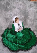 Cosplay women's wear skirt Customized Over 14 years old The uniform, the velvet comic 50. M, s, XL, XXL, XXXL, medium, one size fits all, large, small, customized cosplay Rozen maiden